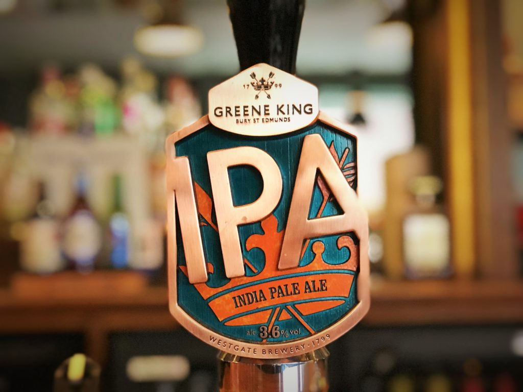 greene king ipa western arms silver end witham essex