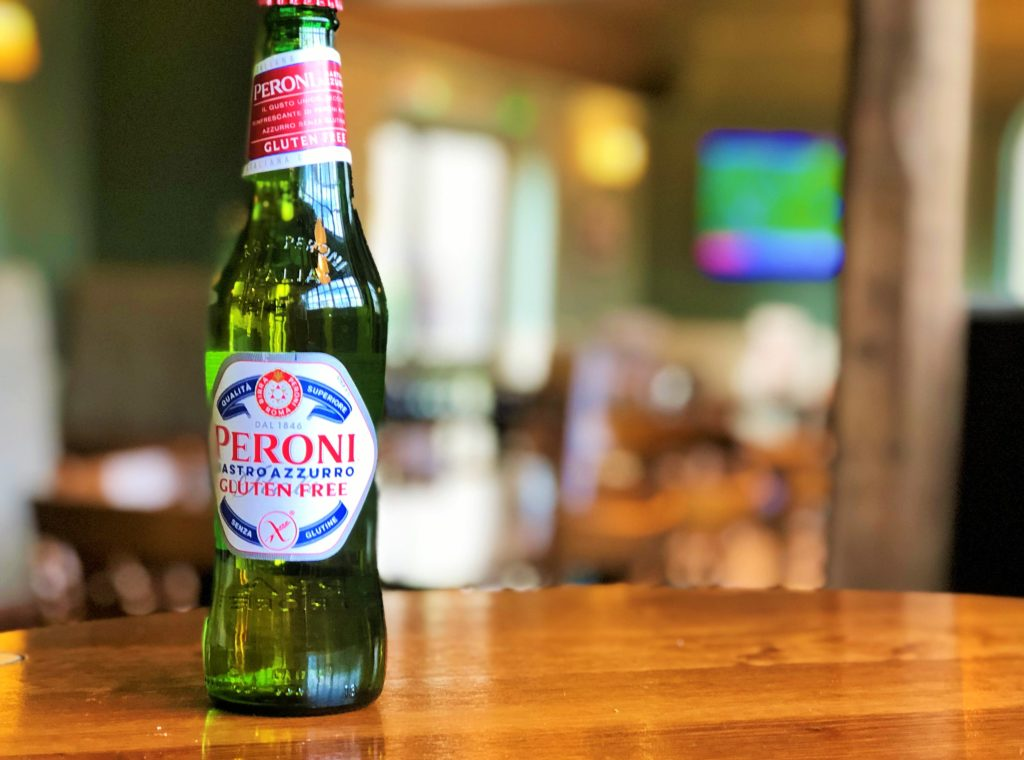 peroni gluten free beer bottle western arms silver end witham essex