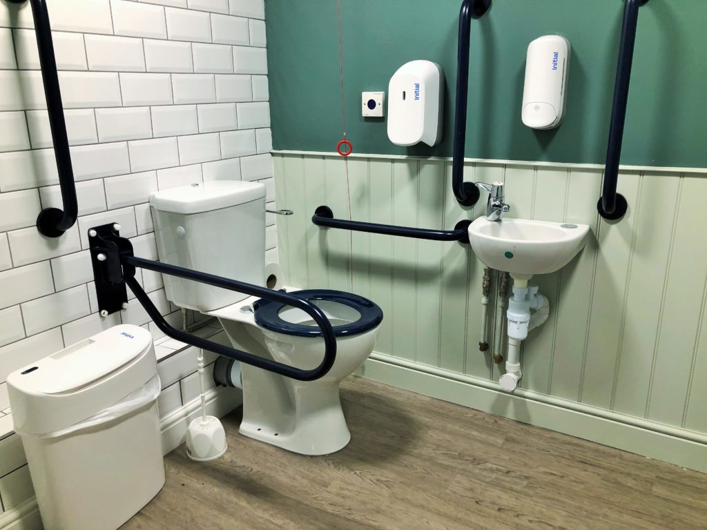 accessible toilet disabled toilet baby change western arms silver end witham essex